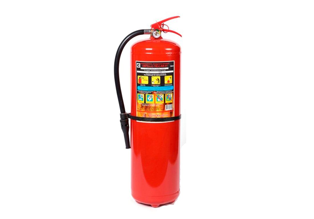 Пенный огнетушитель