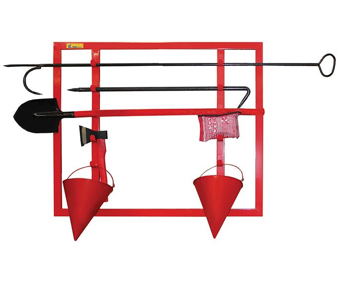 пожарный щит открытого типа